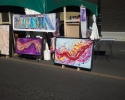 Kaleido morning painting at Lori\'s tent later